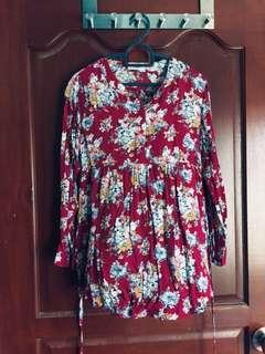 Floral Blouse (Maternity)