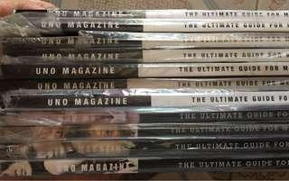 Complete Uno 2007 Magazines P900 for all
