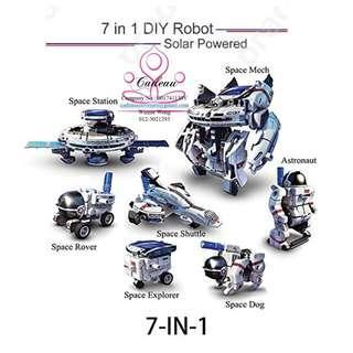 7 In 1 Space Solar Power Educational Robot Kit