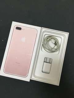 🚚 Iphone7 plus 128G玫瑰金