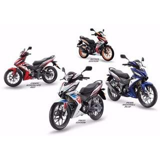 BRAND NEW , ALL NEW HONDA RS150R IN STOCK!