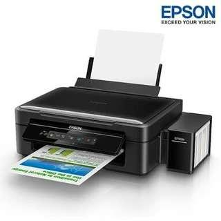 Jual cepat EPSON L405 wifi all in one ink tank printer