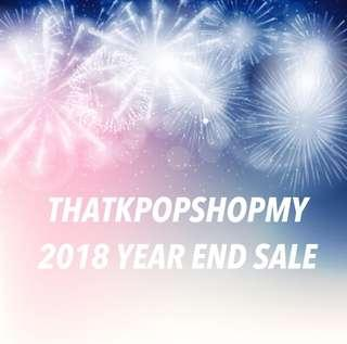 [4/12/18 - 2/1/19] YEAR END SALE
