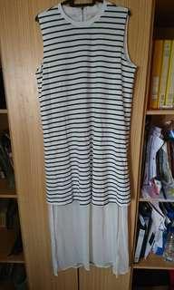 BNWT Unique striped dress