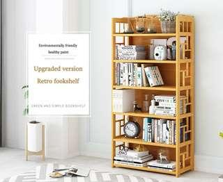 Bookcase simple bookcase children's bookshelf shelving shelving cabinet students solid wood books