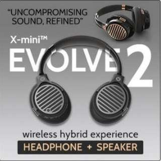 🚚 X-mini™ Evolve 2 Hybrid Wireless Headphone + Speaker