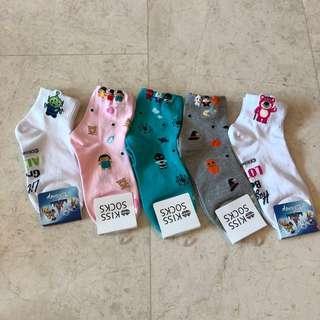 Mini Characters Socks