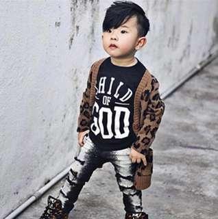 Stylish As Mummy Leopard Print Jacket