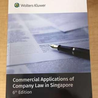 AC2302 Company Law Textbook
