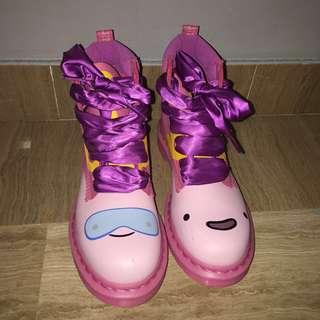 Dr. martens Adventure Time Princess Bubble Gum boots US 8 / UK 6 / EU 39