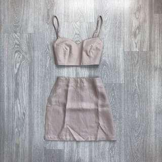 Reformation Inspired Linen Two-Piece