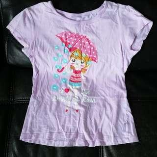 Girl Tee Tshirt (good for 7-9years)