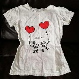 Girl Tee (good for 7-9 years)