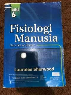 buku fisiologi manusia edisi 6 (lauralee sherwood)
