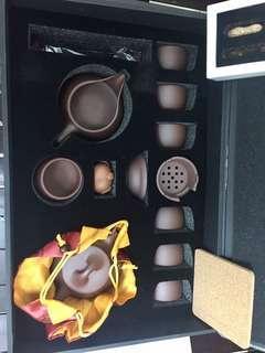 Tea pot set auth rush sale