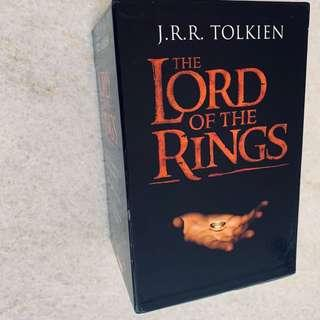 Lord of the rings box set of books