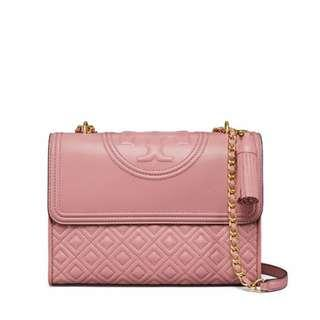 Tory burch fleming magnolia pink medium