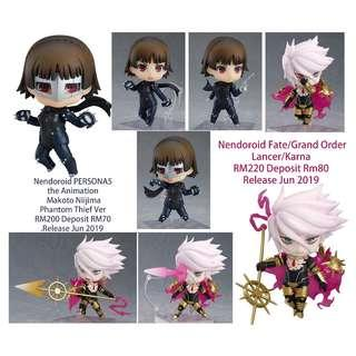 Nendoroid PERSONA5 the Animation  Makoto Niijima  Phantom Thief Ver & Fate/Grand Order  Lancer/Karna