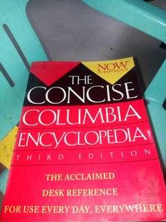 The Concise Columbia Encyclopedia 3rd edition