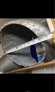 C-7 風管 餐飲 大型吸排放風 多用途 當小空調 軟管 室內外溫度調節神器 通風 悶熱 拉長尺寸算1米300元 沃拿多