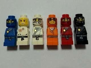 Lego micro Minifigures Ninjago