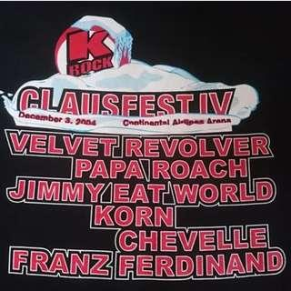 Baju Band Clausfest IV 2004