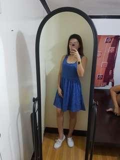 Blue Sleeveless Dress 💖