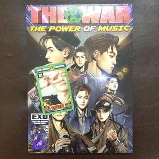 [WTS] [WANT TO SELL] EXO REPACKAGE THE WAR-THE POWER OF MUSIC