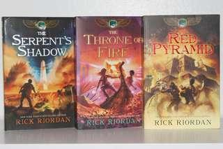 The Kane Chronicles Book Set