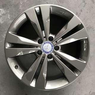 """Used 18"""" Original Mercedes Rims"""