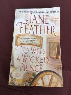 Jane Feather To Wed A Wicked Prince