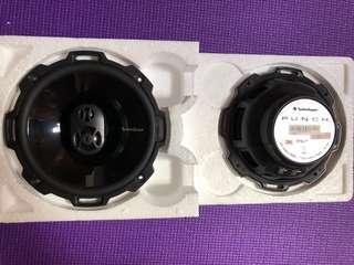 "Rockford Fosgate Punch P1675 6.75"" Car Speakers set"