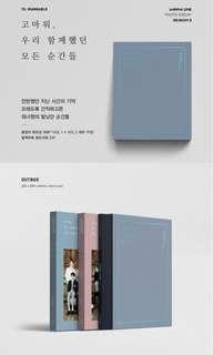 [Photobook] Wanna One Photo essay Season 2 [Thank you , for every moment we have been together]