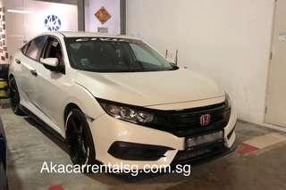 P PLATE WELCOME NO DEPOSIT HONDA CIVIC 2018 FULL TYPE R BODYKIT
