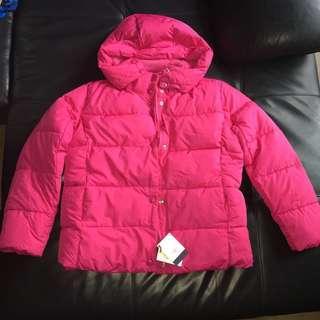 BN GapKids big kids classic warmer puffer jacket (raspberry)