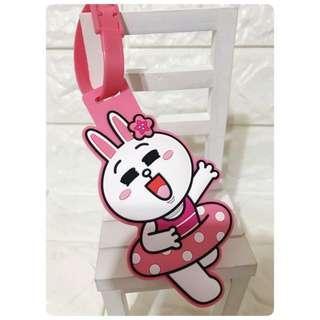 🚚 LINE 兔兔 造型行李吊牌