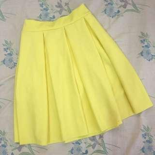 Black Sheep Yellow Skirt