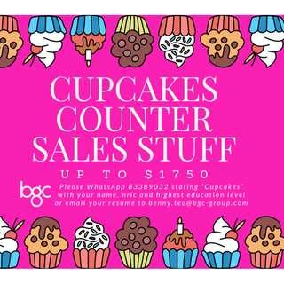Cup Cake Sales Assistant/5 Day/Up to $1750[IMMEDIATE]