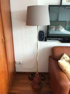Tall beautiful lamp