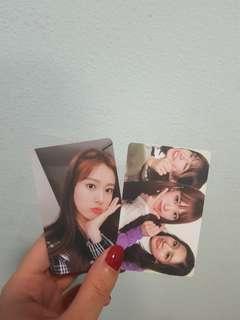 WTS Izone Photocards
