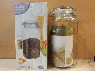 🚚 SILWA西華2L玻璃密封罐