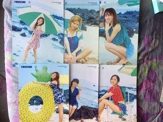 (CLEARANCE) Twicezine Jeju Ed mini Poster