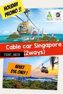 HOLIDAY PROMO ! - CABLE CAR (2ways)