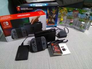 Nintendo Switch for sale. (SX OS Pro)