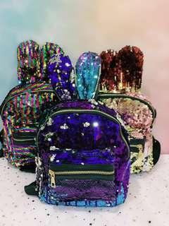 🚚 🐰 Mermaid Skin Rabbit Bagpack 🐰 [INSTOCK]