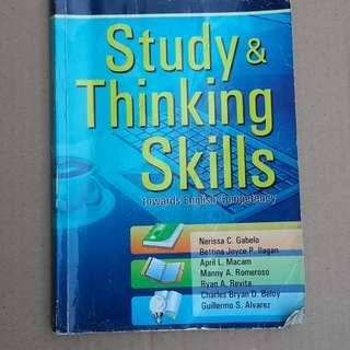 Study & Thinking Skills towards English Competency