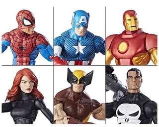 Marvel Legends Vintage Set Wave 1 (訂)