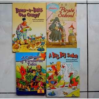 11 Children's English Stories in 4 books