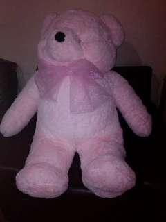 Lifesize Pink Teddy Bear