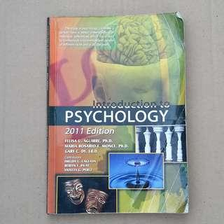 Introduction to PSYCHOLOGY 2011 Edition (Mutya)
